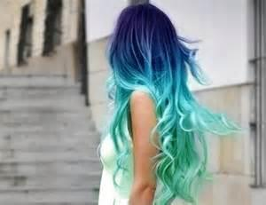Ocean color ombre