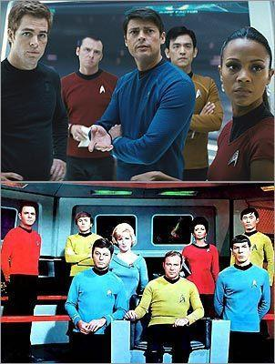 Star trek(new and old)
