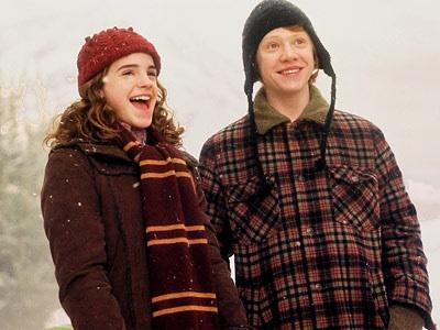 No!! I'm happy with Hermione and Ron!