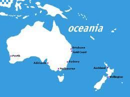 Oceania (this includes Australia)