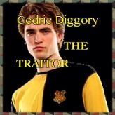 Cedric Diggory THE TRAITOR!