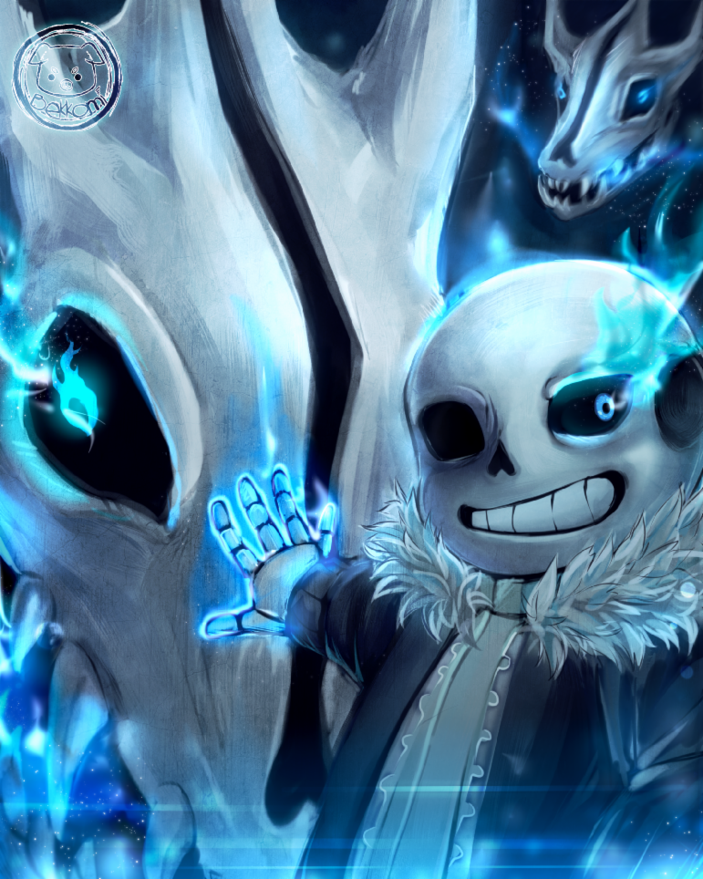 Sans (This skeleton is a pretty pun-ny guy)
