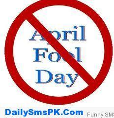 i hate April fool's day