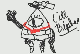 Cill Bipher (The opposite of Bill Cipher)