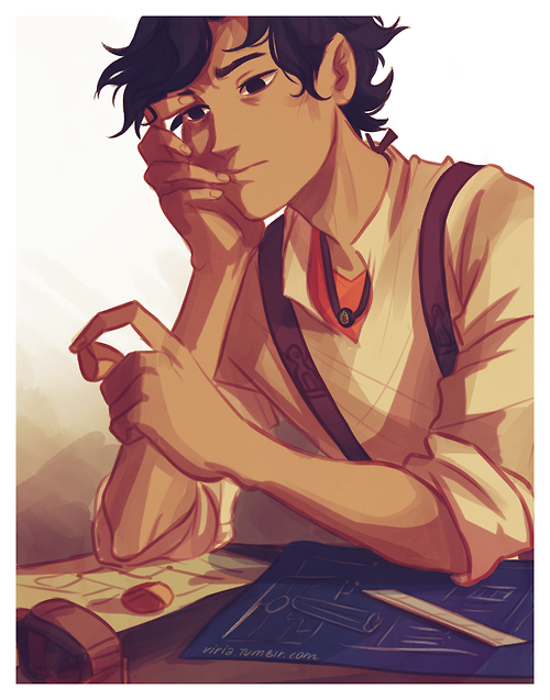 Leo Valdez from Percy Jackson