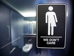 Neither, I think all bathrooms should be unisex and we should stop being assholes to trans people.