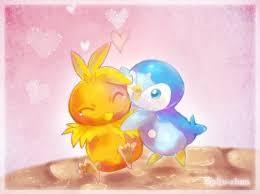 Torchic x piplup