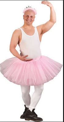 your father in a tutu