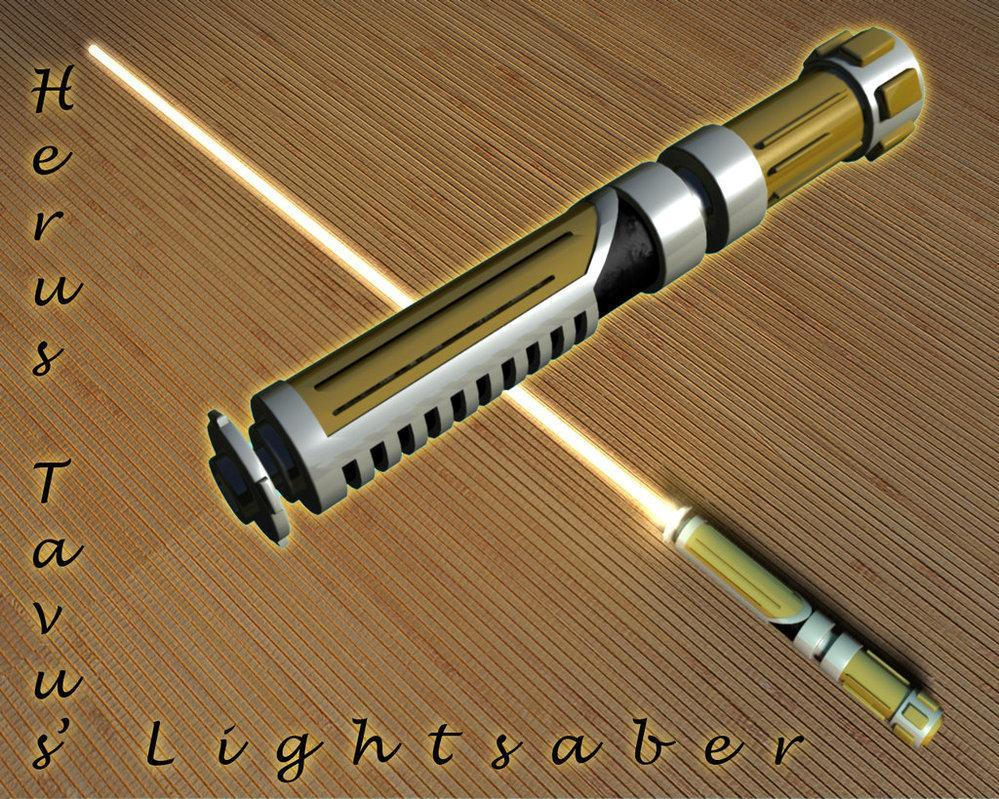 Brown lightsaber