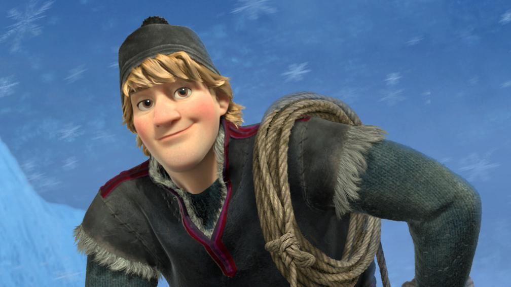 Kristoff (or if your Olaf, this is Sven)