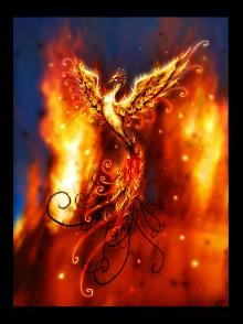 a phoenix..look it up first xD