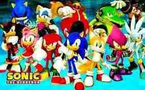 sonic and friends