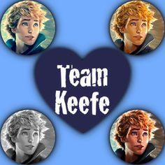Team Keefe! The apparently handsome prankstah! Bad boy! Awful parents included! Yay!