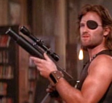 Snake Plisskin (first appearing in Escape from New York then in Escape from L.A.The bruttle hero is portrayed by Kurt Russell)