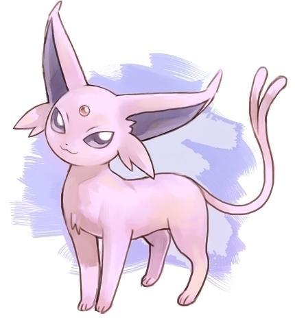 Espeon is secretly plotting your muder...don't be fooled