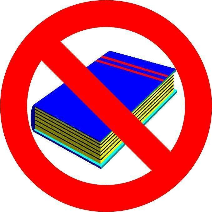 No Books Please