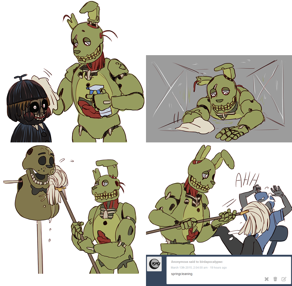 SpringTrap (Me: I just love you too mush)