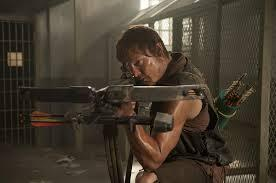 Crossbows. (Yes of course I put Daryl .-.)