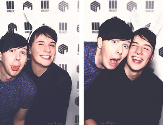 Dan & Phil (My spirit animals)