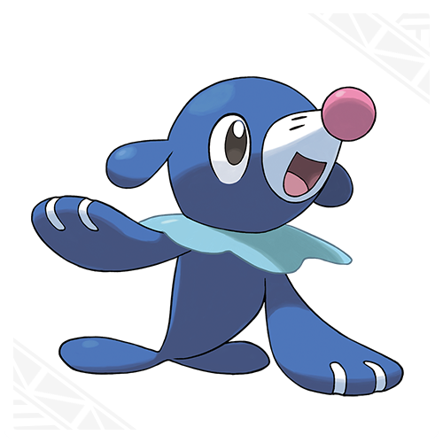 Popplio(sea lion) Popplio's swimming speed is known to exceed 25 mph. It's better at moving in the water than on land.