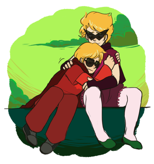 Dirk Strider and Dave Strider