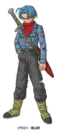 "Future ""but blue"" Trunks"