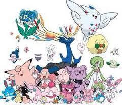 Fairy types are super kawaii