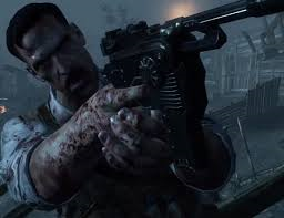 Richtofen! stab the undead!