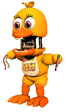 FnaF World Withered Chica
