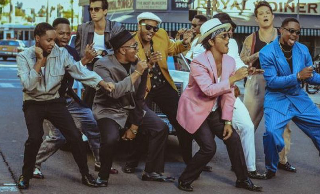 Uptown Funk: Bruno mars: weeks on: 2: peak: 3: last week: 3: