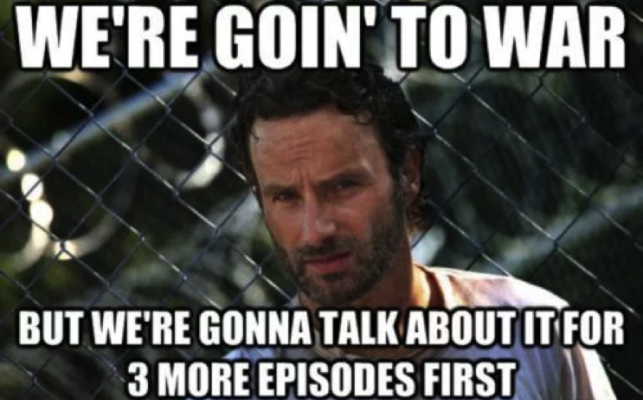 The walking DEAD memes. No? Just me? Ok then...