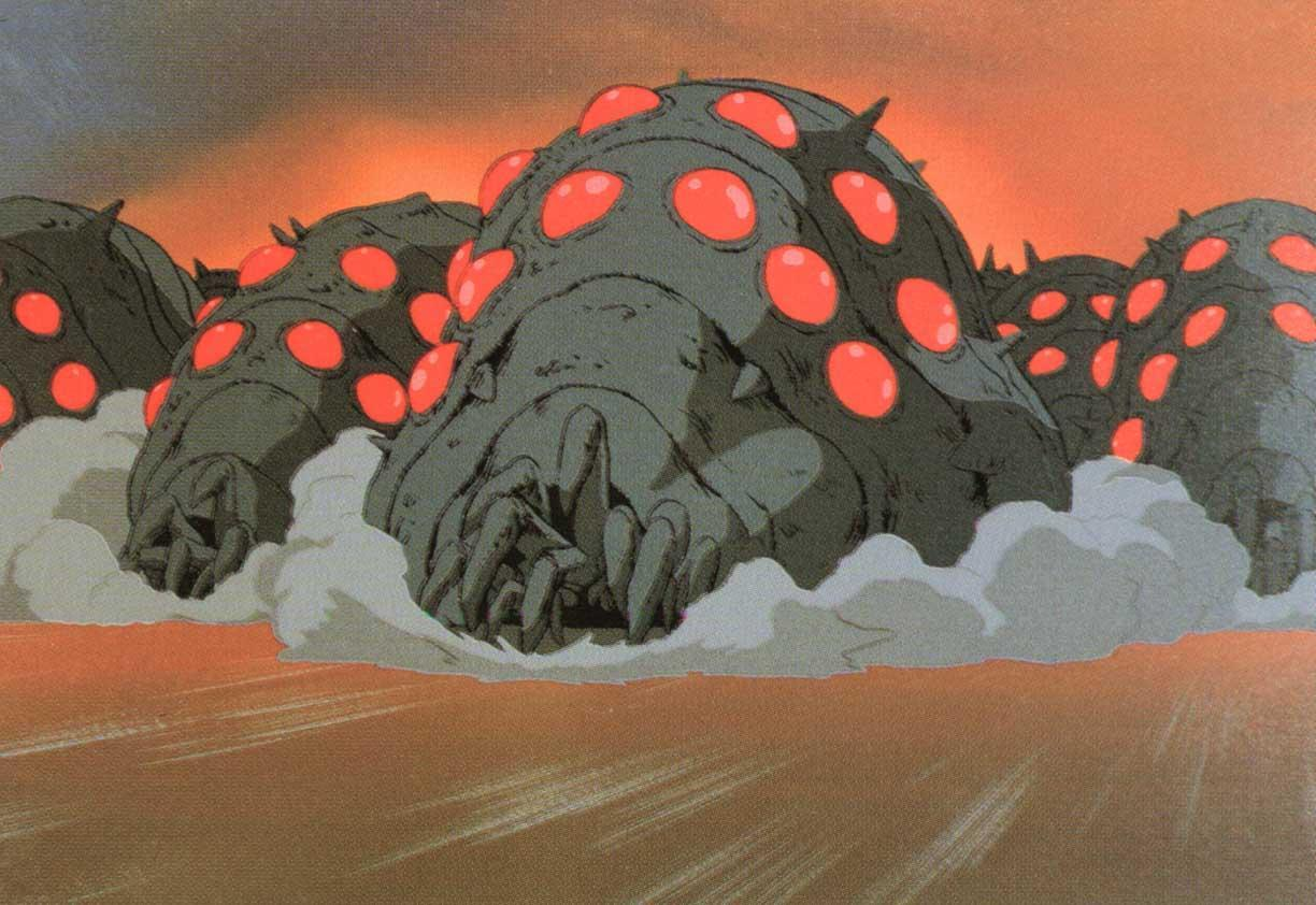 The Ohmu from Nausicaa of the Valley of the Wind!