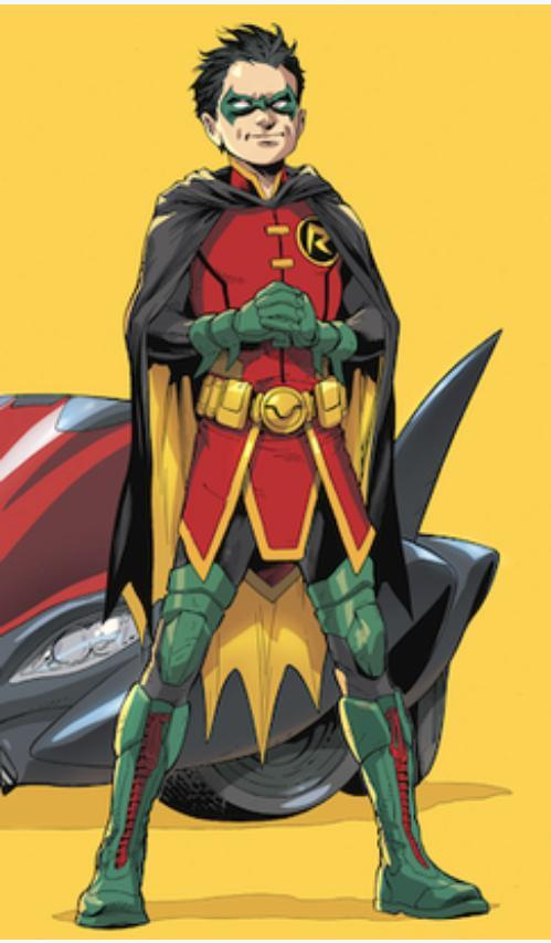 Damien Wayne- Batman's son (fifth Robin)