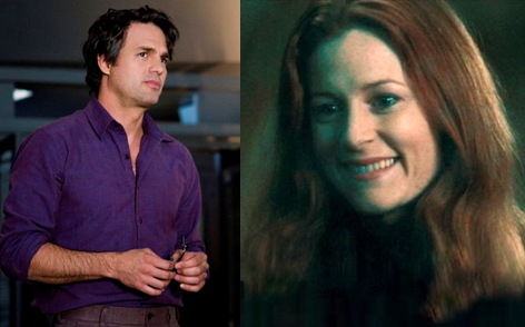 bruce banner and lily potter