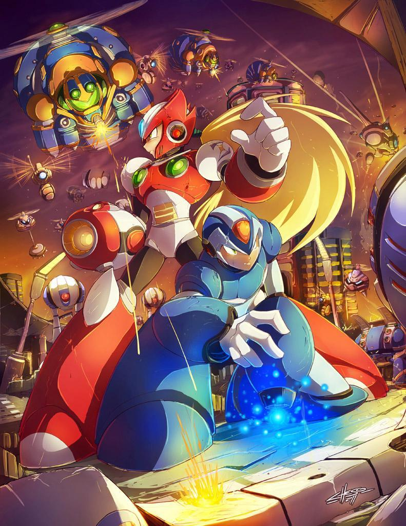 Megaman (A girl can dream XD)