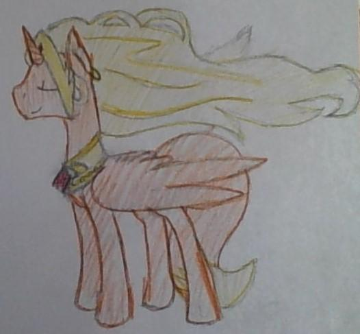 Princess Rose (My Alicorn OC woohoo!)