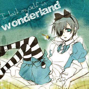 Ciel as Alice
