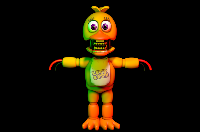 Adventure Withered Chica