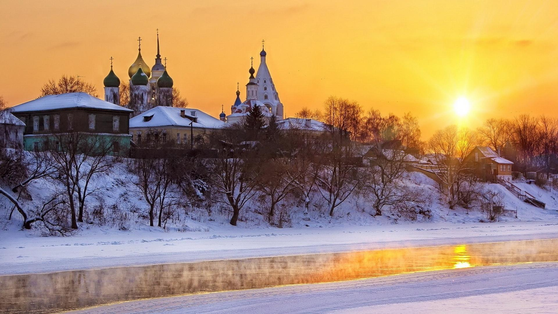 Russian Church in the Winter