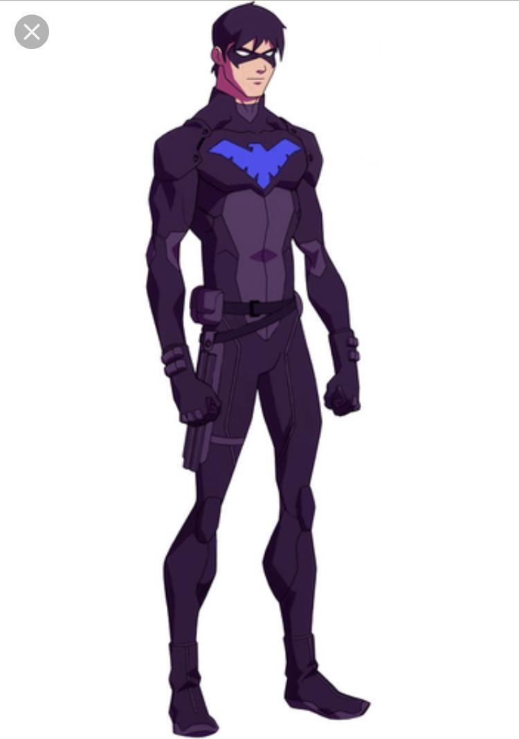 Dick Grayson- becomes Nightwing after handing the mantle of Robin to Tim Drake