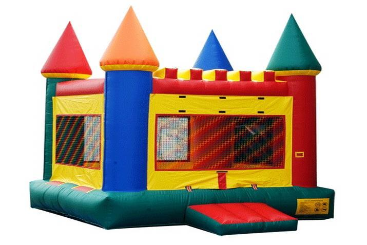 Live in a bouncy house