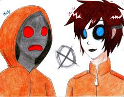 masky and hoodie