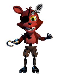 Adventure Withered Foxy