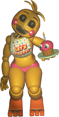 Toy Chica without beak