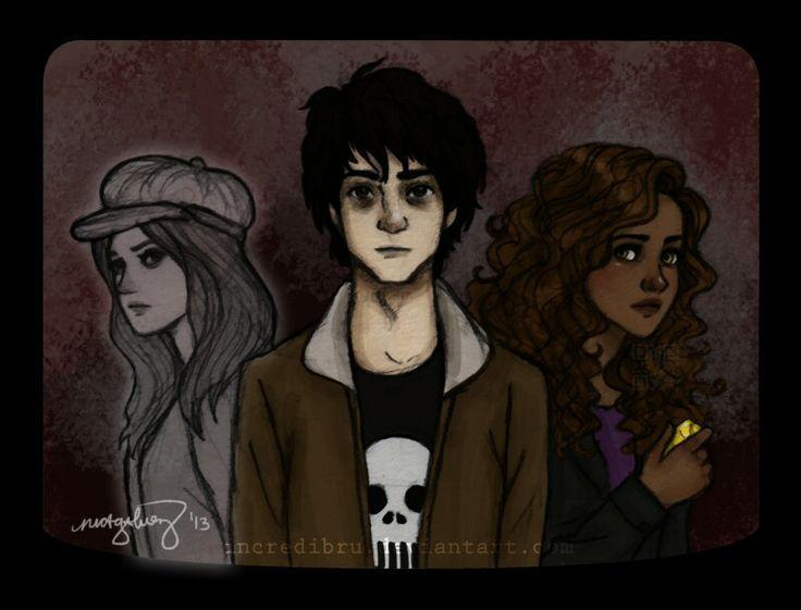 The children of Hades (Nico, Bianca and Hazel)