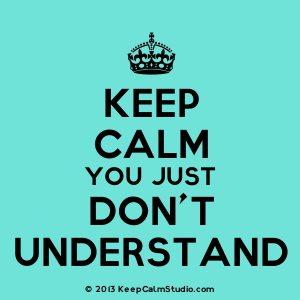 What is keep calm?