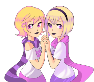 Rose Lalonde and Roxy Lalonde