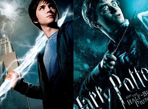 Harry Potter and Percy Jackson
