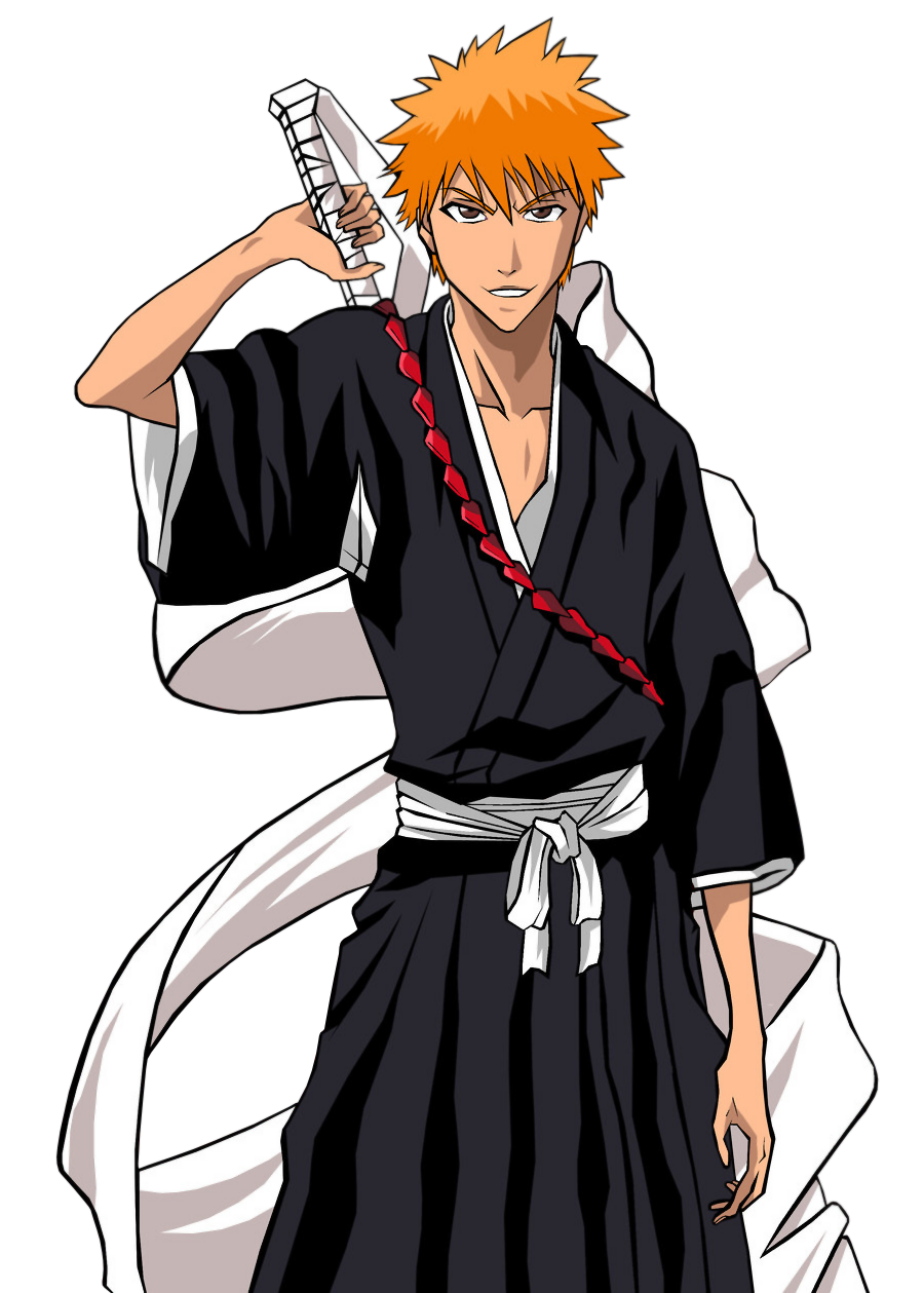 U like the spiky orange haired substituete soul reaper more.