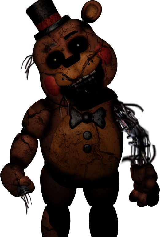 Withered Toy Freddy